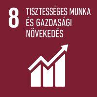 8 - Tisztességes munka és gazdasági növekedés